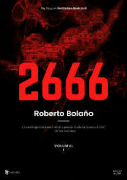 2666 - 3 volume/Roberto Bolano