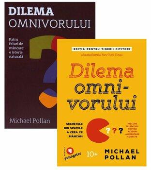 Pachet Dilema omnivorului pentru adulti si tineri cititori/Michael Pollan