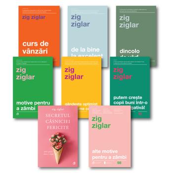 Pachet Zig Ziglar/Zig Ziglar