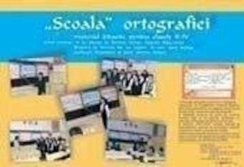 Scoala ortografiei - set planse cu ortograme/***