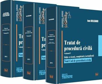 Tratat de procedura civila. Vol. 1